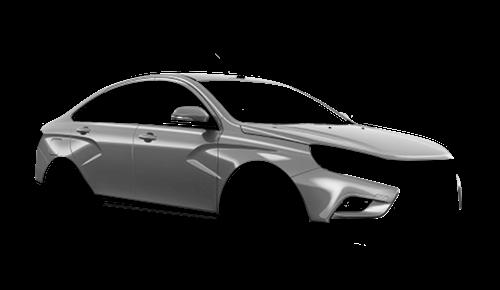 Цвета кузова Lada Vesta Cross